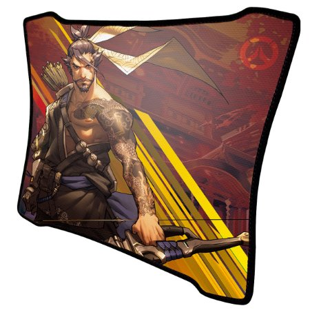 Mouse Pad Gamer Magnum Overwatch Hanzo Speed Medio