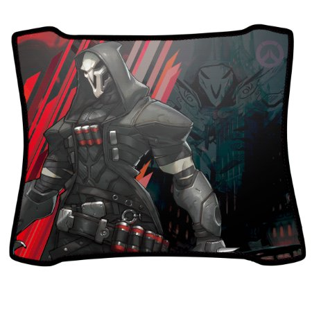 Mouse Pad Gamer Magnum Overwatch Reaper Speed Medio
