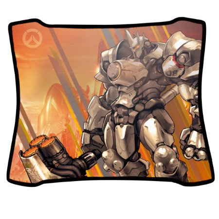 Mouse Pad Gamer Magnum Overwatch Reinhardt Speed Medio