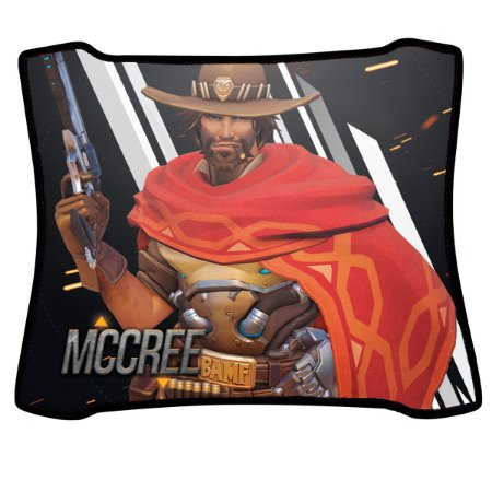 Mouse Pad Gamer Magnum Overwatch Mccree Speed Medio