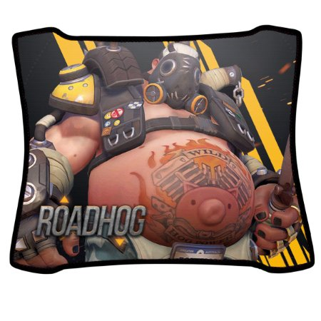 Mouse Pad Gamer Magnum Overwatch Roadhog Speed Medio