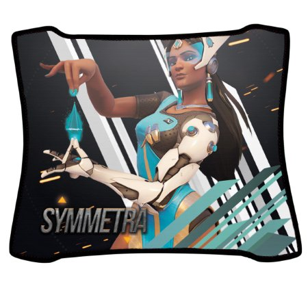 Mouse Pad Gamer Magnum Overwatch Symmetra Speed Medio