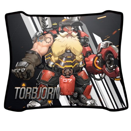 Mouse Pad Gamer Magnum Overwatch Torbjorn Speed Medio