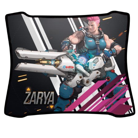 Mouse Pad Gamer Magnum Overwatch Zarya Speed Medio