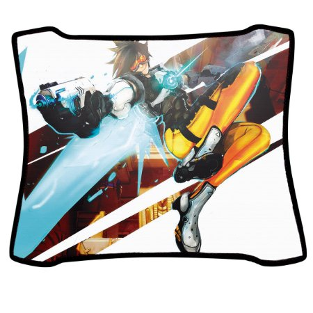 Mouse Pad Gamer Magnum Overwatch Tracer Speed Medio