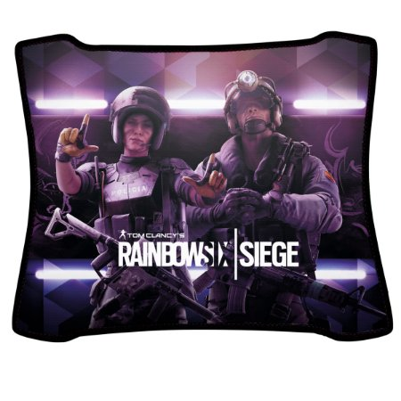Mouse Pad Gamer Magnum Rainbow Six Mira e Jackal Speed Medio