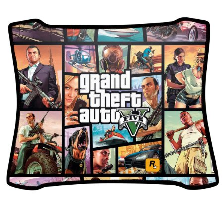 Mouse Pad Gamer Magnum Grand Theft Auto Five Speed Medio
