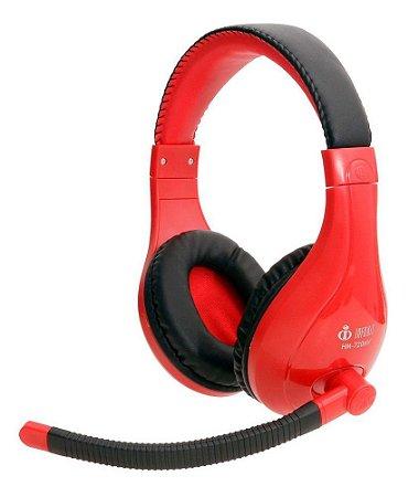 Headset Gamer GM-720MV Infokit - Vermelho