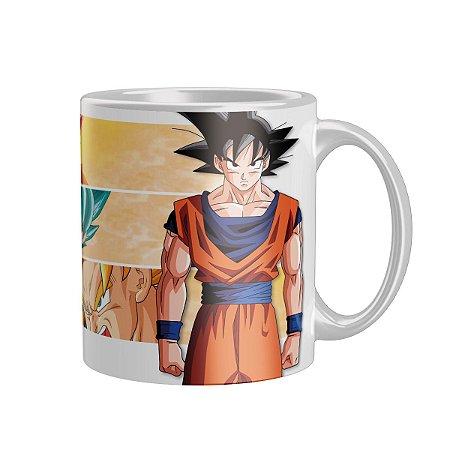 Caneca Dragon Ball Son Goku