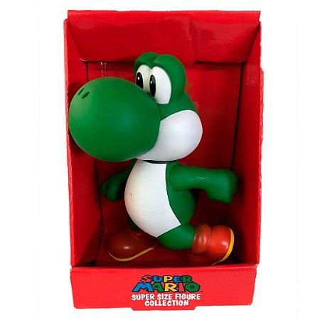 Boneco Yoshi Do Super Mario Com 20cm Em Pvc