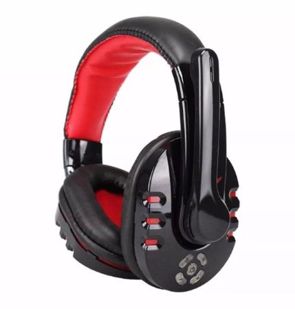 Fone Ouvido Headset Gamer Pc Note Ps3 Q8 Sem Fio