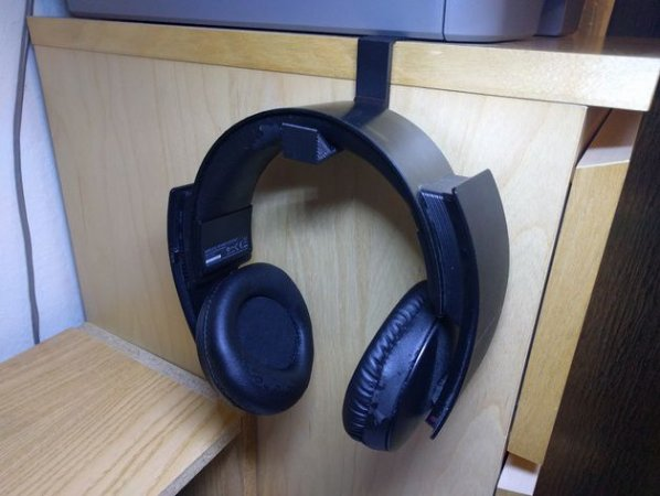 Suporte Para Fone De Ouvido Headset Mesa 3D