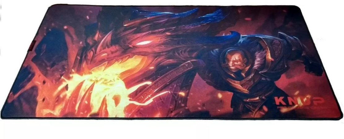 Mouse Pad Gamer Knup League of Legends Braum Speed Extra Grande