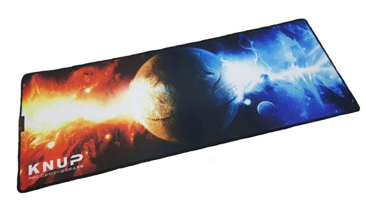Mouse Pad Gamer Knup Planeta Extra Grande