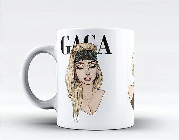 Caneca Lady Gaga Desenhos