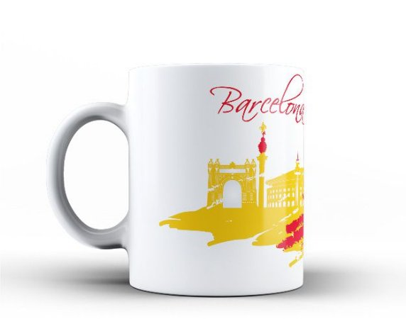 Caneca Cidade de Barcelona