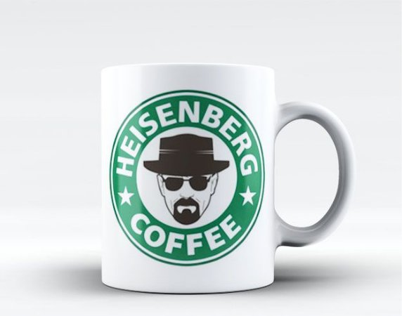 Caneca Breaking Bad - Starbucks Heisenberg Coffee