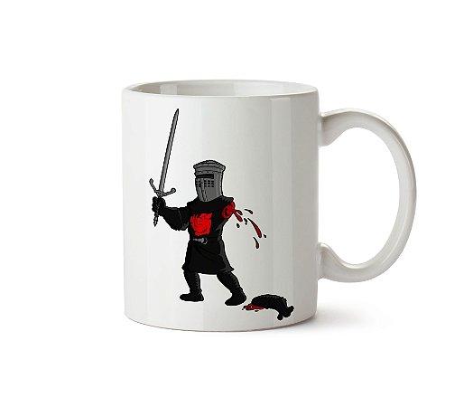 Caneca Monty Python: O Cavaleiro Negro