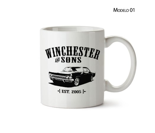 Caneca Supernatural: Winchester Sons