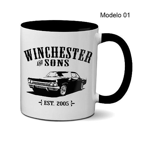 Canecas Supernatural - Irmãos Winchester