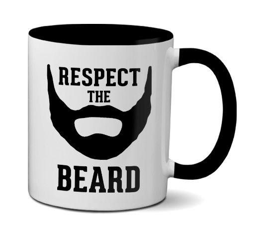Caneca Respeite A Barba - Respect The Beard