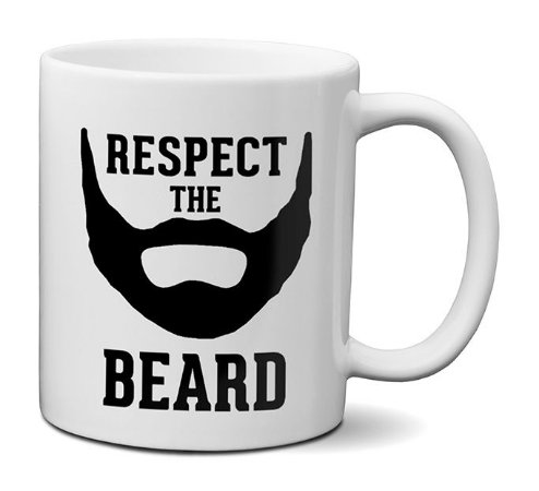 Caneca Respeite A Barba - Respect The Beard