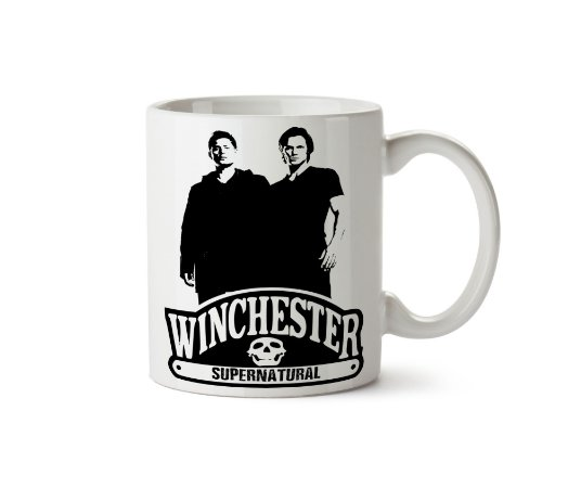 Caneca da série Supernatural: Winchesters