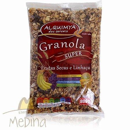 Super Granola Frutas Secas e Linhaça