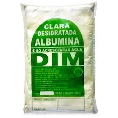 Albumina Dim 500G - Proteína da clara do ovo desidratada