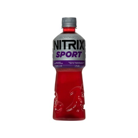 ISOTÔNICO NITRIX UVA - 500 ML - FARDO COM 12 UNIDADES
