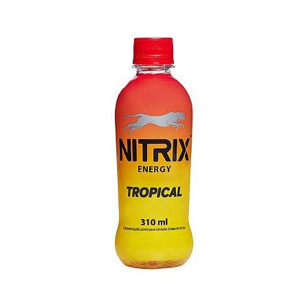 ENERGÉTICO TROPICAL NITRIX - 310 ML - FARDO COM 12 UNIDADES