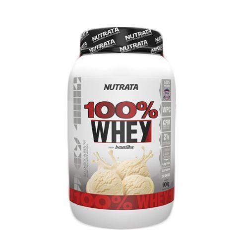 Whey 100% 900g - Nutrata