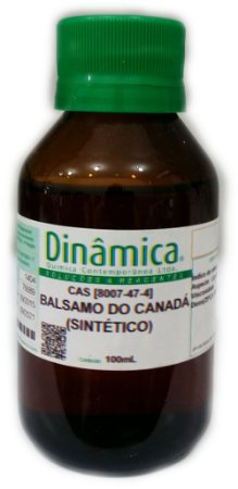 Balsamo do Canadá (incolor) 100ml Dinâmica