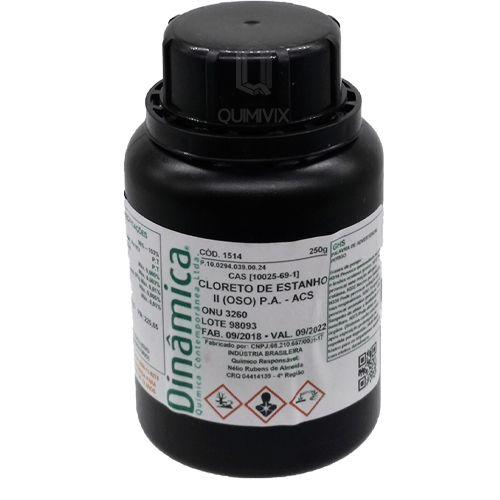 Cloreto de estanho II OSO (2H2O) PA ACS 250 G Dinamica