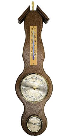 Estação Meteorológica - Higrômetro, Barômetro e Termômetro Incoterm