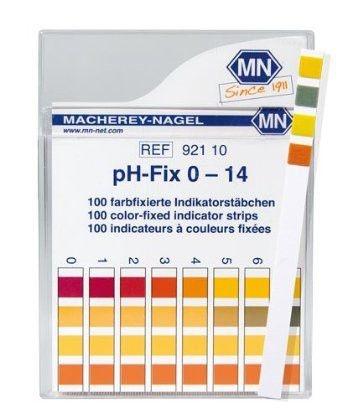 Papel indicador de Ph phfix 0 - 14 M. Nagel Alemão