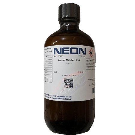Alcool metílico PA 1 Litro Neon