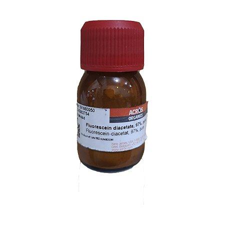 Diacetato de Fluoresceina 97% Puro 5G Acros C24 H16 O7 ref 191660050 CAS 596-09-8