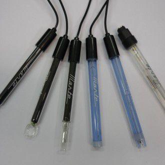 Eletrodo Combinado de Ph Corpo de Vidro 0 a 14ph