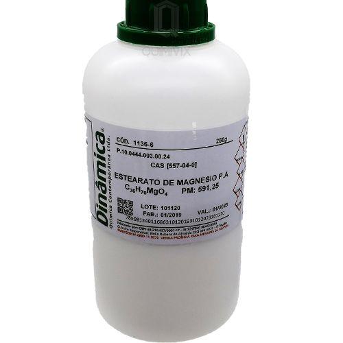 Estearato de Magnésio PA 250G Dinamica