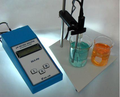 Phmetro de Bancada Digital Microprocessado -2,00 a 20,00Ph Dellab