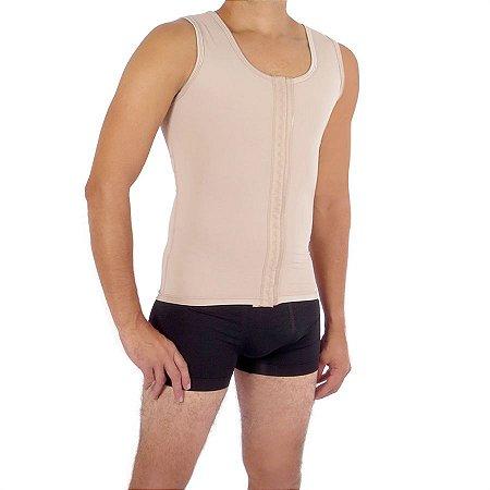 Corretor postural EMANA® masculino com abertura frotal e reforço nas costas