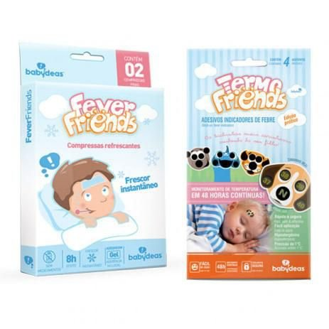 Kit Febre Babydeas - 1 Termo Friends + 1 Fever Friends - 70010151