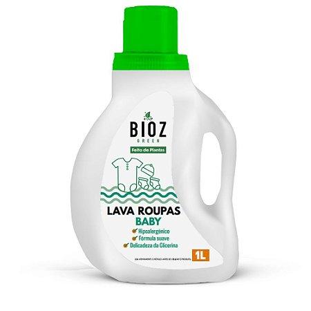 Sabão para Lava Roupas Natural Baby 1 Litro Bioz Green