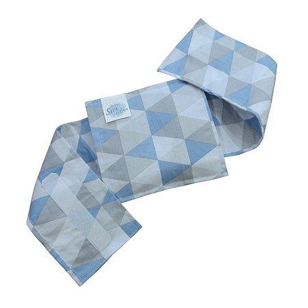 Bolsa Térmica Bebê sem Cólica Cinta Losango Azul - 2457