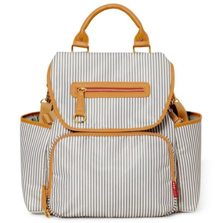Bolsa Maternidade Grand Central Take-it-all Backpack French Stripe Skip Hop 216100