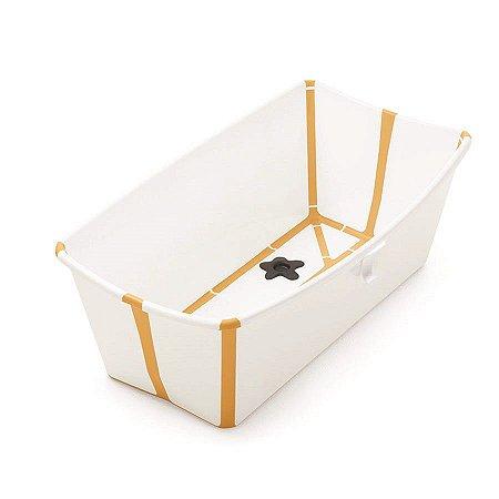 Banheira Flexível Amarela com Plug Térmico Stokke - W531909