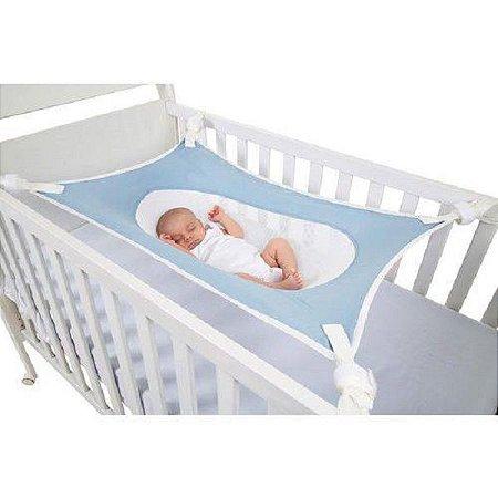 Cama Primeiro Sono para Recém Nascido Azul Baby Pil - 99031A