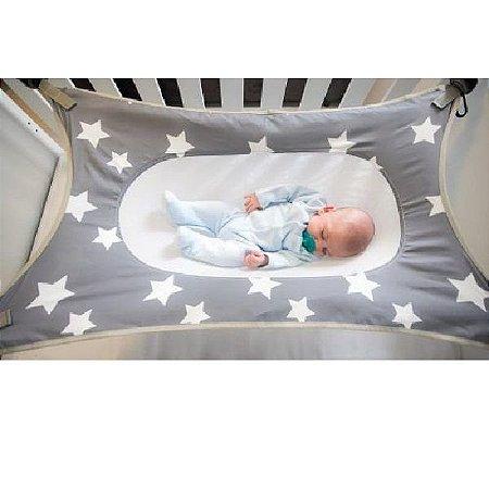 Cama Primeiro Sono para Recém Nascido Cinza Babypil - PIL059