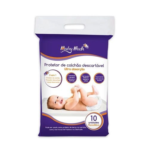 Protetor de Colchão Descartável Baby Bath - B213880